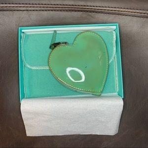 Tiffany & Co Heart-shaped Coin Purse